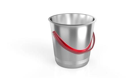 Empty ice bucket Animation