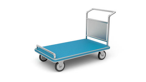 Luggage cart Stock Video Footage