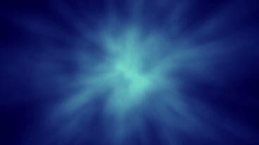 Abstract Aura Glow Sphere BG - Blue Animation