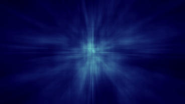 Abstract Aura Star Shine BG - Blue Animation
