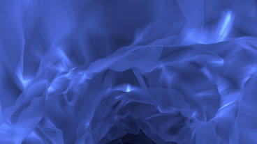 Animated Descent Into Ice Cave BG Stock Video Footage