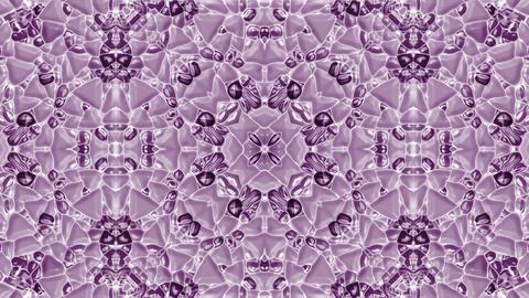 purple plastic flower pattern,gorgeous orient religion fancy Stock Video Footage