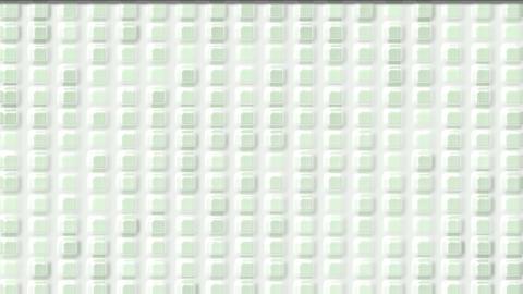 white plastic square & block brick matrix wall,like... Stock Video Footage