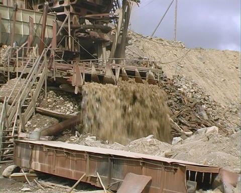 Strip Mining. Draga Stock Video Footage