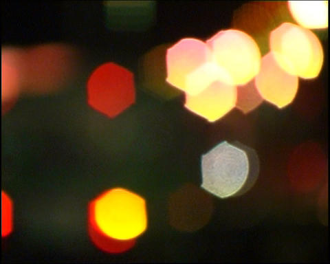 Defocused lights Stock Video Footage