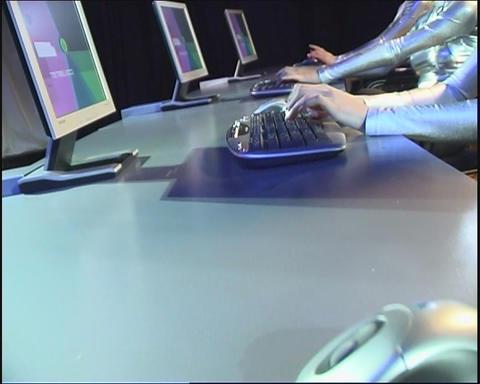 Keyboard Stock Video Footage