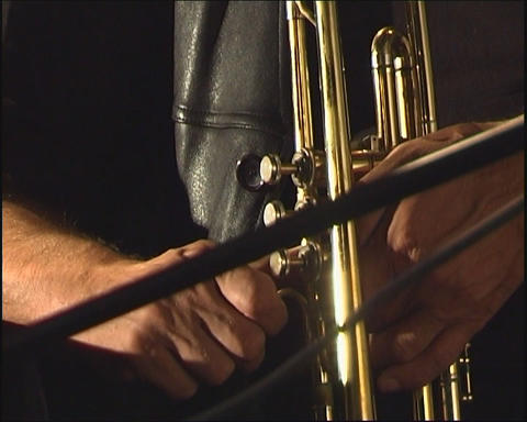 Trumpet Stock Video Footage
