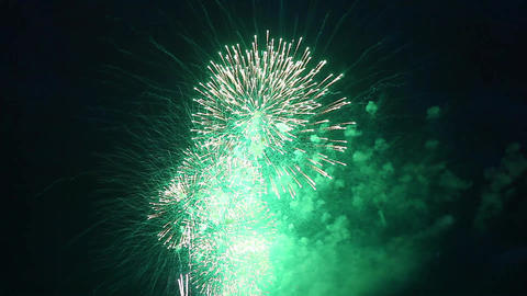 Fireworks show Stock Video Footage