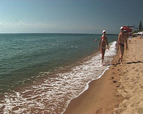 Beach Stock Video Footage