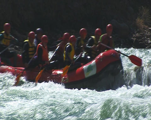 Rafting Stock Video Footage