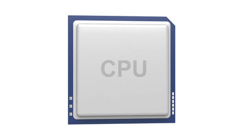 CPU stock footage