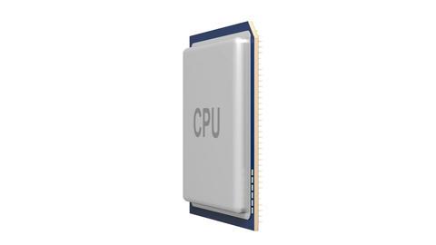 CPU Stock Video Footage