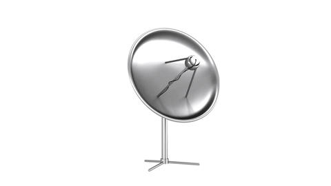 Satellite dish Animation