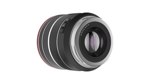 Zoom lens Stock Video Footage