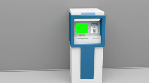 ATM machine Animation