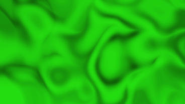 Green Smeared Satin Background Animation