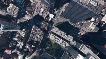 aerial view of New york,spectacular city landscape Stock Video Footage