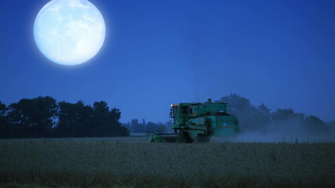 Night harvesting Footage