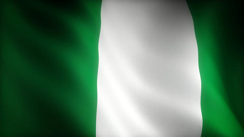 Flag of Nigeria Animation