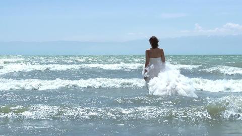 Mermaid Wedding Stock Video Footage