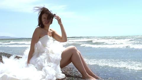 Wedding Dress Stock Video Footage