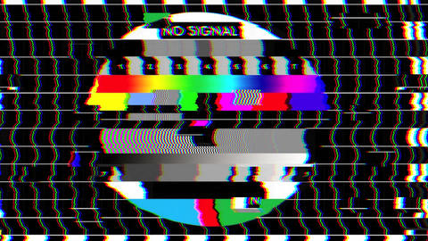 Bad TV - II - Glitchy Noise & Sound Animation