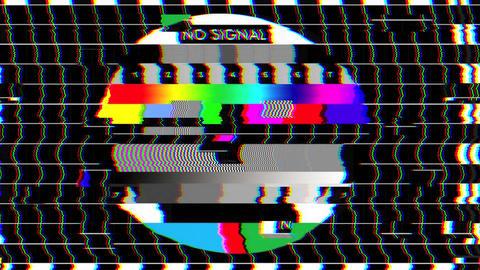 Bad TV - II - Glitchy Noise & Sound Animation