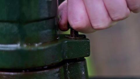 Unscrewing last screw Footage
