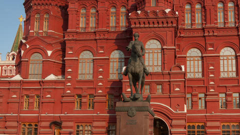 Red Square hyperlapse Footage
