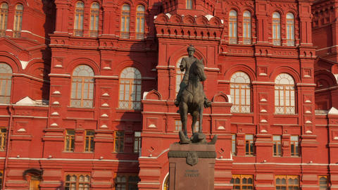 Red Square hyperlapse Stock Video Footage
