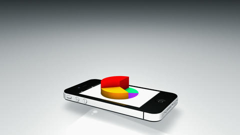 Smartphone 3D Graph Animation