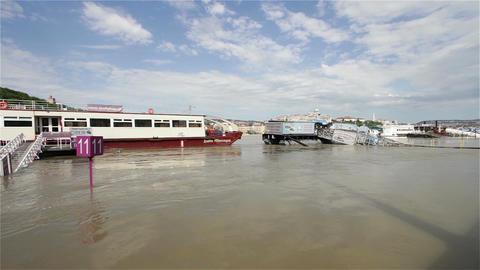 2013 Flood Budapest Hungary 3 Footage