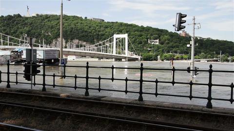 2013 Flood Budapest Hungary 7 Footage