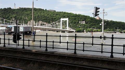 2013 Flood Budapest Hungary 7 Stock Video Footage