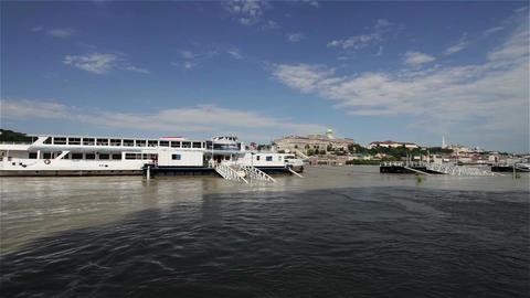 2013 Flood Budapest Hungary 9 Stock Video Footage