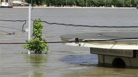 2013 Flood Budapest Hungary 13 Footage