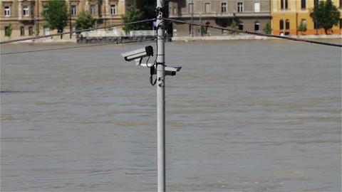2013 Flood Budapest Hungary 15 Stock Video Footage