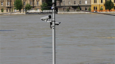 2013 Flood Budapest Hungary 15 Stock Video Footage