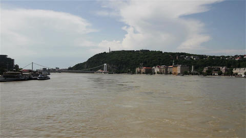 2013 Flood Budapest Hungary 31 Stock Video Footage