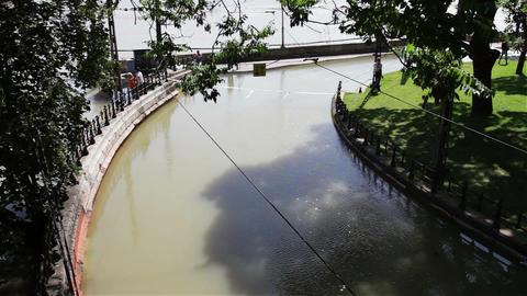 2013 Flood Budapest Hungary 33 Stock Video Footage