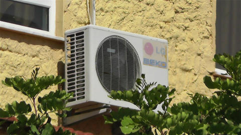 Air Conditioning Energy Concept 1 heat Footage