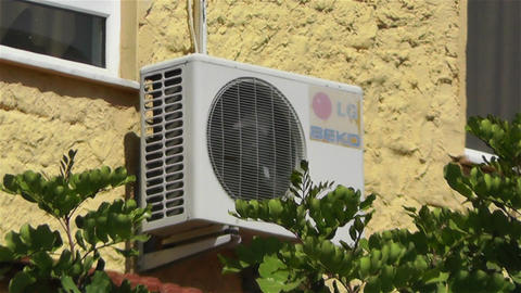 Air Conditioning Energy Concept 1 heat Stock Video Footage