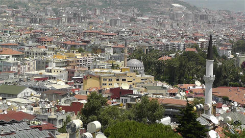 Alanya Turkey 60 muezzin Stock Video Footage