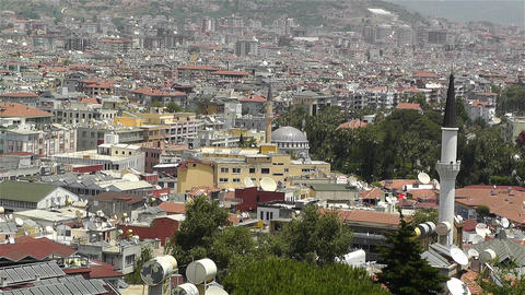 Alanya Turkey 60 muezzin Footage