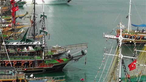 Alanya Turkey 72 port Footage