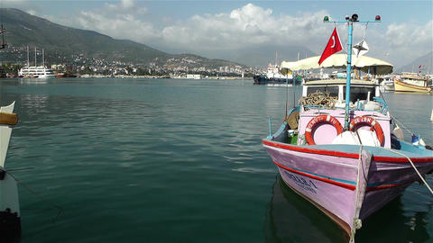 Alanya Turkey 90 port Footage