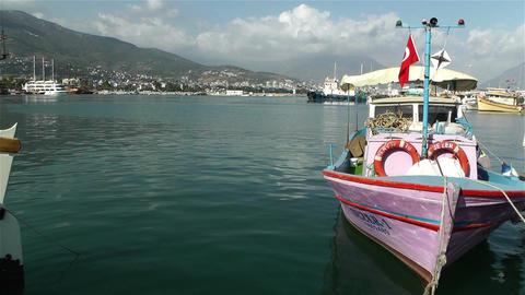 Alanya Turkey 90 port Stock Video Footage