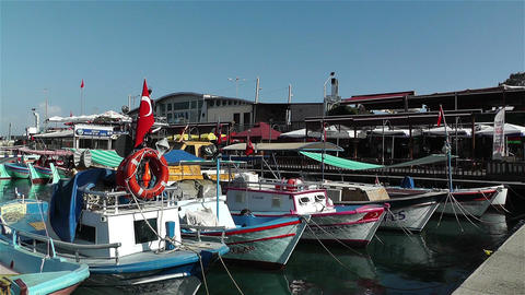 Alanya Turkey 92 port Stock Video Footage