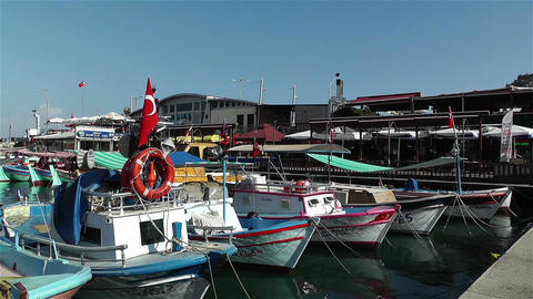 Alanya Turkey 92 port Footage