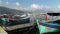 Alanya Turkey 94 port Footage